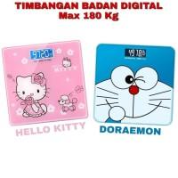 Timbangan Badan Digital LCD Doraemon Maks 180kg Body Weight Scale