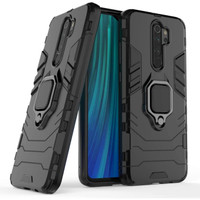 Case Armor Ring Magnetic Casing Xiaomi Redmi 9