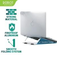 ROBOT laptop stand Dudukan Laptop Alluminium Alloy Light Foldable