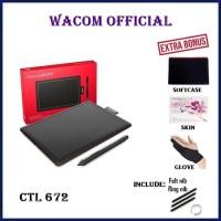 Wacom One by CTL-672/K0-C Medium Creative Pen Tablet CTL672 CTL 672 K0 - Unit Only