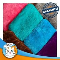 LARGE Soft Fur Pet Bed / Bantal Alas Tempat Tidur Hewan Anjing Kucing