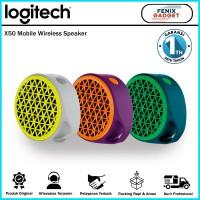 Logitech X50 Speaker Bluetooth Wireless - Garansi Resmi 1 Tahun
