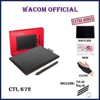 Wacom One by CTL-672K0-C Medium Creative Pen Tablet CTL672 CTL 672 K0