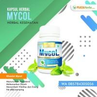 Mycol - Obat Herbal Untuk Turunkan Kolesterol Ijin Bpom & Mui Asli