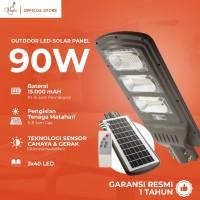 CANIS 3x40 LED Solar Cell 90Watt Street Lamp Sensor Gerak/Cahaya