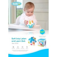 KIDSBABY SOFT GRIP LISTEN AND LEARN BALL