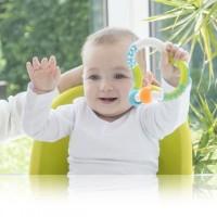 KIDSBABY PLUS TWIST & LEARN RING RATTLE