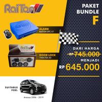 RAITON PAKET F ALARM & KUNCI PINTU/DOOR LOCK UNTUK AVANZA/XENIA