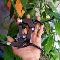 Tuas rem sepeda Alloy - sepasang handle rem sepeda alumunium