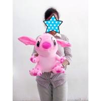 Boneka Stitch Pink Lembut Ukuran 35cm - Boneka Stitch