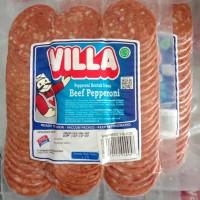 Beef Pepperoni Villa 250 gr