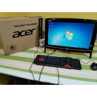 PC ALL IN ONE ACER RAM 4GB SSD 128 MANTAB