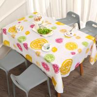Taplak Meja Anti Air Motif Lemon - Lemon, 137x90cm