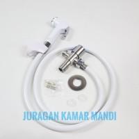 jet shower/bidet/shower toilet/kamar mandi/set/lengkap
