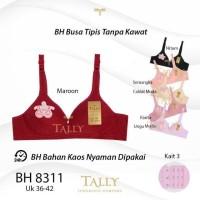BH TALLY 8311 BRA BUSA HARIAN TANPA KAWAT BUSA TIPIS