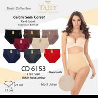 CD TALLY 6151 / 6153 Celana Dalam Rajut Stretch Body Murah Adem