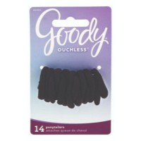 Goody ouchless 1762628/ 1941090/ 02066 black pantyhose ponytailer 14ct