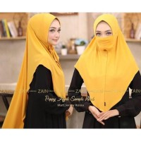 Jilbab Instan Jilbab Safety Mask Poppy Niqab Anti Corona