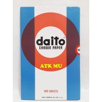 Kertas Karbon DAITO / Carbon Paper DAITO 1 Pak isi 100 Lembar