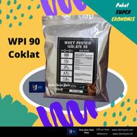 Whey Protein Isolate WPI 90 Murah Rasa Coklat 500gram