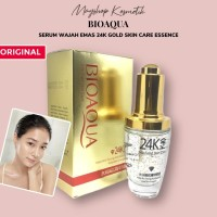 Per Pcs ORIGINAL Bioaqua Serum Wajah Emas 24 K Gold Essence Skin Care
