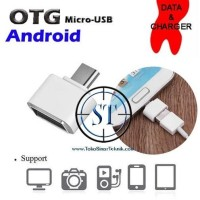 Micro USB OTG 2.0 Adapter Compatible For Android Smartphone