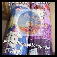 Kasur lantai/Kasur palembang isi Kapuk uk.180x200 cm Terbaru