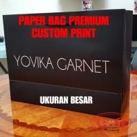 Paper Bag Custom Print Besar / Shopping Bag / Paperbag Doff / Premium
