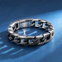 Gelang Titanium Pria Stainless Steel 316L 15mm Chain Bracelet