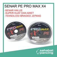 SENAR TALI PANCING PE PRO MAX X4 100 M - 2, Hijau