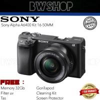 Sony Alpha A6400 Kit 16-50MM