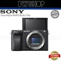 Sony Alpha A6400 Body Only