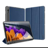 """Samsung Tab S7 11"""" Original Smartcover Flip case DOMO Series Biru"""