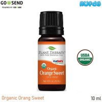 Plant Therapy Organic Sweet Orange Essential Oil Minyak Esensial