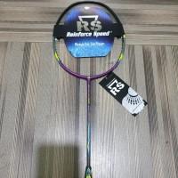 Raket Badminton Iso Power 999 evo bonus tas kaos senar lengkap