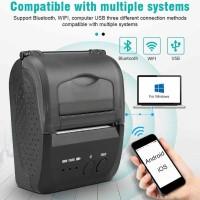 Mini Portable Bluetooth Printer Thermal 58mm Untuk Cetak Struk