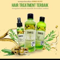 Paket BMKS olive shampoo conditioner dan tonik original bpom