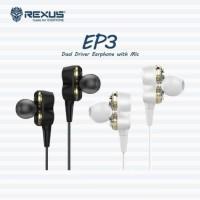 Rexus Earphone Handsfree Gaming EP3 with Mic