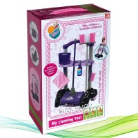 Mainan Edukasi Anak Cleaning Kit Set Tool Troly - Little Helper