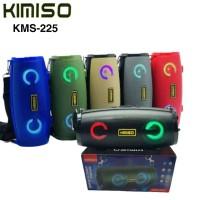 Speaker Bluetooth Led Portable KMS 225 Speker Wireless KIMISO KMS-225