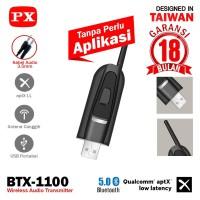 Dongle Adapter USB Bluetooth Transmitter Audio 5.0 HD PX BTX-1100 PNP