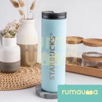 RUMAUMA Starbucks Bottle Stainless Anti Bocor Anti Karat Murah Unik