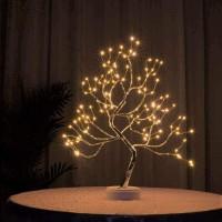 Lampu Meja LED 108 Tree Light Pohon Bonsai USB Dekorasi Kamar Tidur