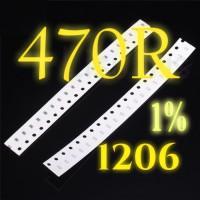SMD 470R Resistor 1206 1% SMT 470 Ohm