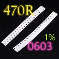 SMD 470R Resistor 0603 1608 1% SMT 470 Ohm