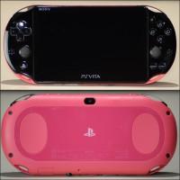 PS Vita Slim PCH-2006 CFW Enso Henkaku Black Pink 128GB 2nd MULUS!!