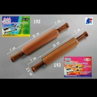 Rolling Pin Malaysia no 192 / Gilingan Adonan Plastik Gagang Berputar