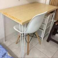 Meja kerja/Office Table/Meja Belajar 100*60*70