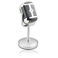 Condenser Mic Mikropon Microphone Classical Vintage Retro Jadul Klasik