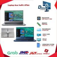 ACER Swift 3 SF314-41-R2HG AMD Ryzen™ 5 3500U RAM 4GB SSD 512GB
